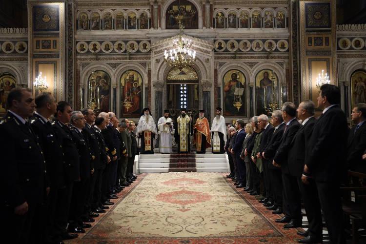 Λαμπρά εορτάστηκαν οι Προστάτες του Πυροσβεστικού Σώματος στην Αθήνα