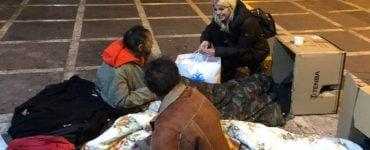Η Έλενα Ράπτη με την «ΑΠΟΣΤΟΛΗ» στους αστέγους της Αθήνας