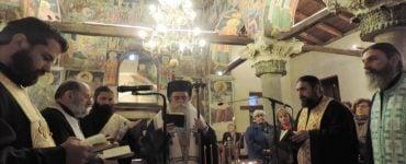 Ευχέλαιο στον Βυζαντινό Ναό Αγίας Θεοδώρας Άρτης