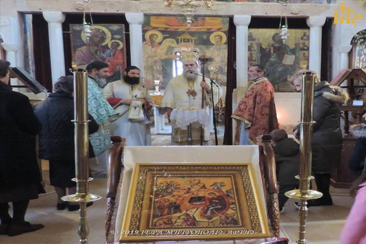 Παραμονή Χριστουγέννων στην Αγία Θεοδώρα Άρτης