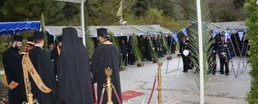 Η εορτή του Πυροβολικού στο στρατόπεδο Λοχαγού «ΑΜΒΡΑΖΗ» Ελευθερούπολης (ΦΩΤΟ)