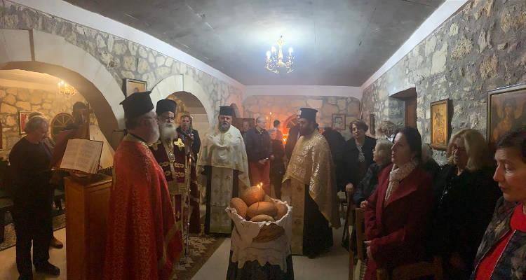 Γιόρτασε ο ιστορικός Ιερός Ναός Αγίου Σπυρίδωνα Κανένε Σητείας