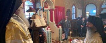 Μνημόσυνο για τους προκατόχους του τέλεσε ο Μητροπολίτης Ιεραπύτνης Κύριλλος