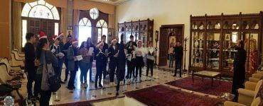 Νεανικές φωνές πλημμύρισαν το Επισκοπείο της Μητροπόλεως Κωνσταντίας