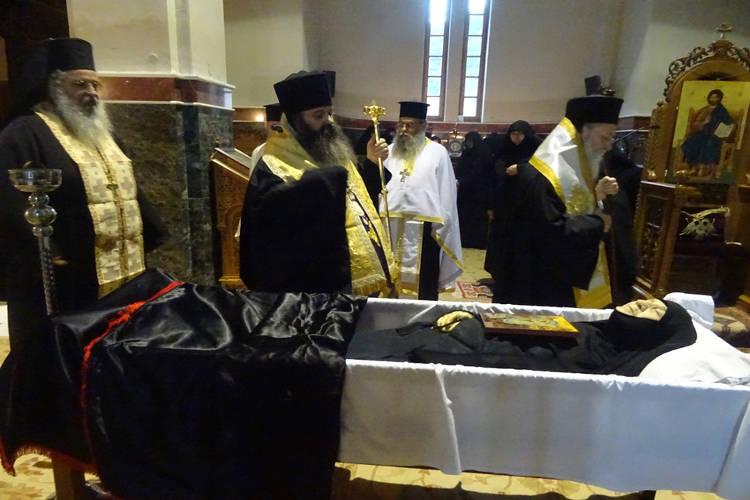 Εκοιμήθη η μοναχή Παταπία του Ιερού Ησυχαστηρίου Τιμίου Σταυρού