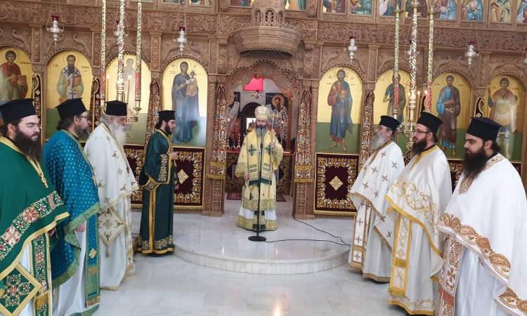 Εορτή Αγίου Σάββα στη Μητρόπολη Λεμεσού