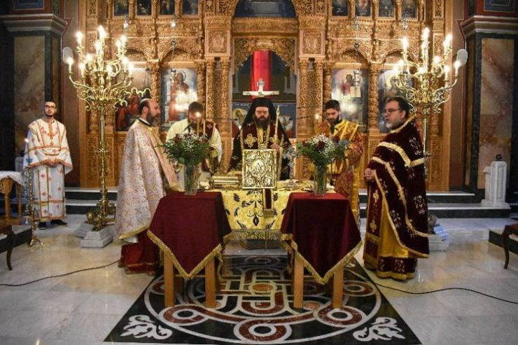 Αρχαιοπρεπής Θεία Λειτουργία στην Κομοτηνή (ΦΩΤΟ)