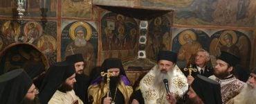 Ενθρόνιση νέου Ηγουμένου στη Μονή Αγίου Νικολάου Αναπαυσά Μετεώρων