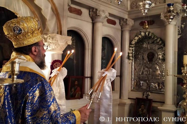 Η Εορτή του Αγίου Νικολάου στη Σύμη