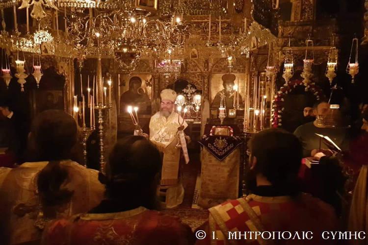 Άγιο Όρος: Λαμπρά πανηγύρισε η Μονή Σταυρονικήτα