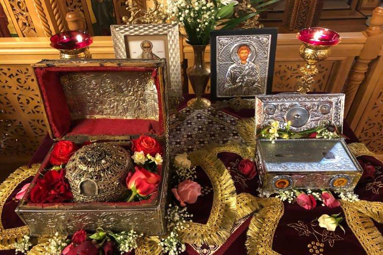 Η Λιβαδειά υποδέχτηκε την Κάρα του Αγίου Παρθενίου