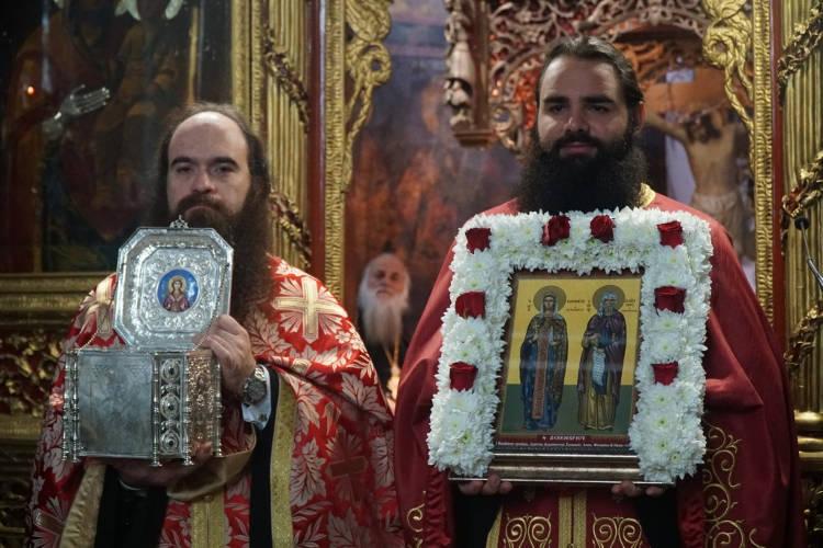Εορτή Αγίας Βαρβάρας και Αγίου Ιωάννου Δαμασκηνού στα Τρίκαλα