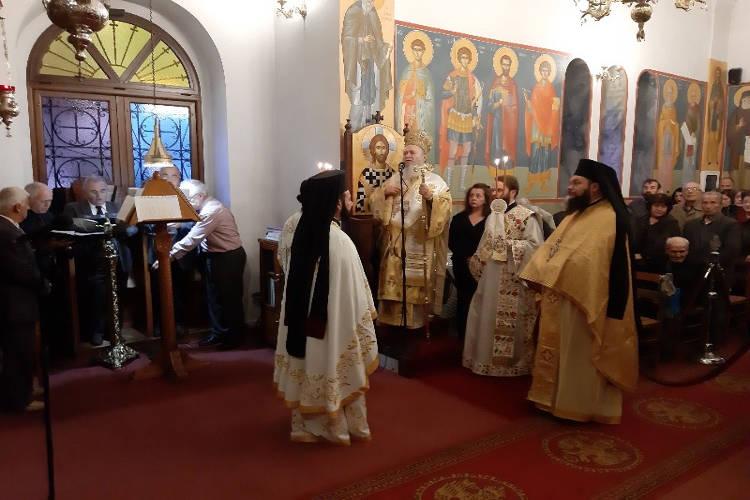 Λαμπρά εορτάστηκε η Αγία Βαρβάρα στη Χαλκίδα