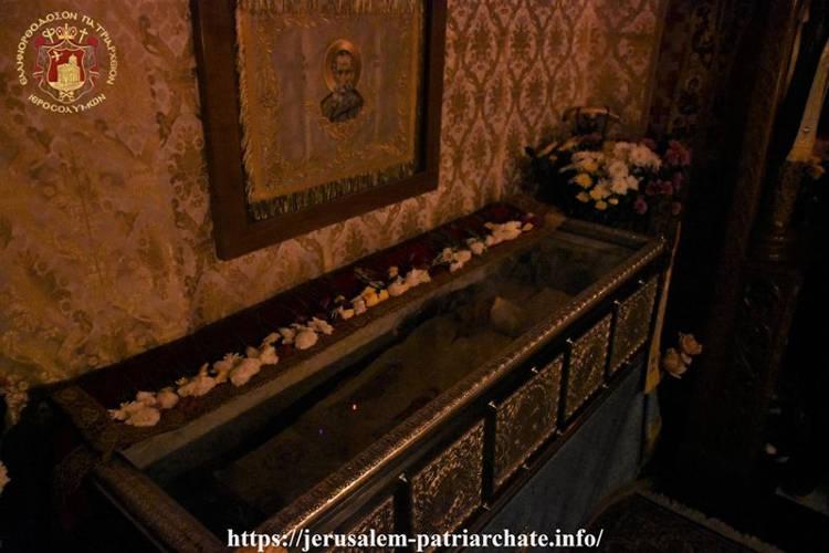 Εορτή Οσίου Σάββα του Ηγιασμένου στο Πατριαρχείο Ιεροσολύμων