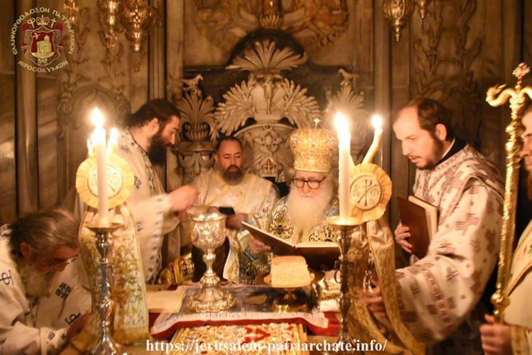Χειροτονία μοναχού σε Διάκονο στο Πατριαρχείο Ιεροσολύμων