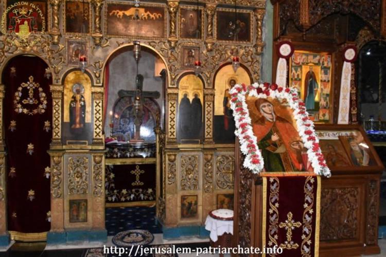 Εορτή Αγίας Βαρβάρας στο Πατριαρχείο Ιεροσολύμων