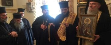 Εορτή Αγίου Σπυρίδωνος στο Πατριαρχείο Ιεροσολύμων