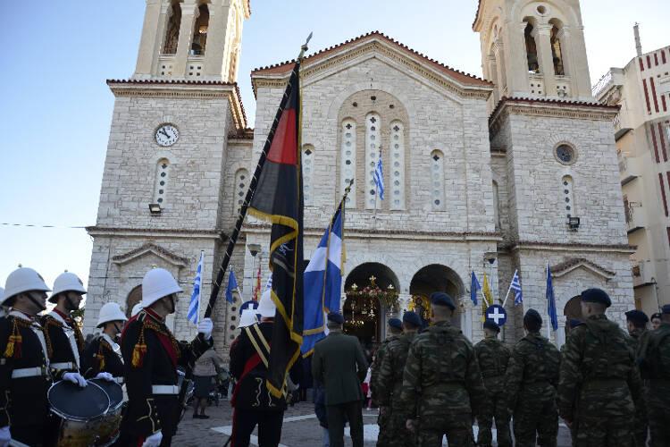 Το Μεσολόγγι γιόρτασε τον Πολιούχο του Άγιο Σπυρίδων (ΦΩΤΟ)