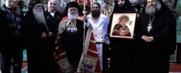 Ο Μητροπολίτης Νεαπόλεως στην Ιερά Μονή Κουτλουμουσίου Αγίου Όρους