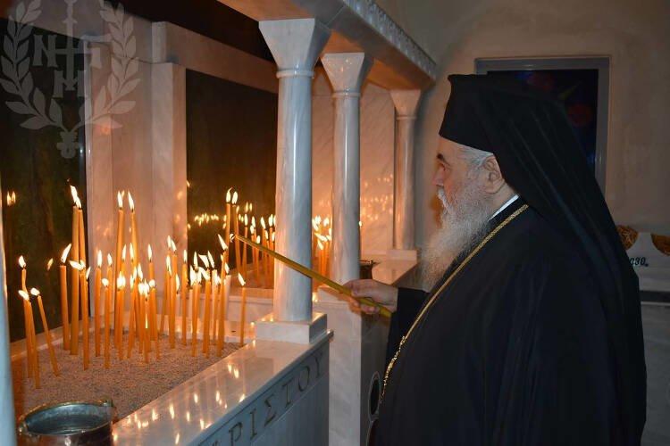 Η μνήμη του Αγίου Σπυρίδωνος στη Μητρόπολη Νεαπόλεως (ΦΩΤΟ)