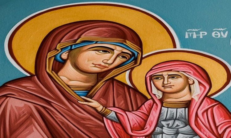 Λείψανο της Αγίας Άννης στα Γιαννιτσά Αγρυπνία Αγίας Θεοπρομήτορος Άννης στα Τρίκαλα Εορτή της Συλλήψεως της Αγίας Άννης
