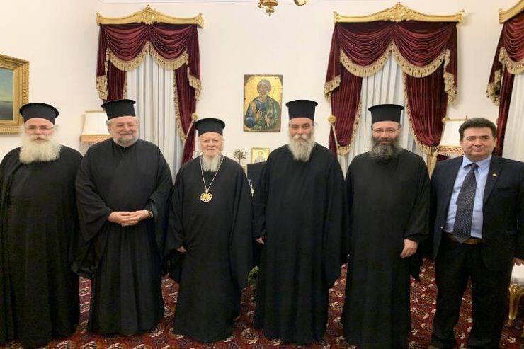 Αρχιερείς της εν Κρήτη Εκκλησίας στο Οικουμενικό Πατριαρχείο (ΦΩΤΟ)