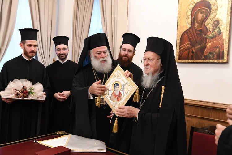 Θερμή υποδοχή του Πατριάρχου Αλεξανδρείας στο Φανάρι