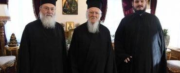 Ο Μητροπολίτης Κορίνθου Διονύσιος στο Οικουμενικό Πατριαρχείο (ΦΩΤΟ)