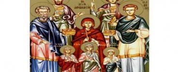 Αγρυπνία Αγίων Αναργύρων Κύρου και Ιωάννου στη Νέα Ιωνία Βόλου