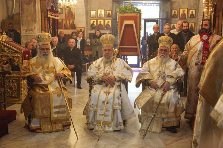 Εορτή Αγίου Νεοφύτου στη Μονή του στην Πάφο (ΦΩΤΟ)