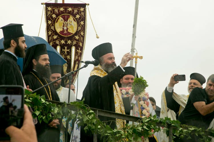 Εορτάστηκαν τα Θεοφάνεια στο Σύδνεϋ