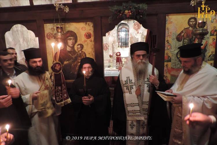 Σεραφείμ ο νέος Μοναχός στη Μητρόπολη Άρτης