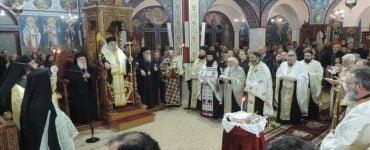 Πανηγυρικός Εσπερινός Αγίου Μαξίμου του Γραικού στην Άρτα