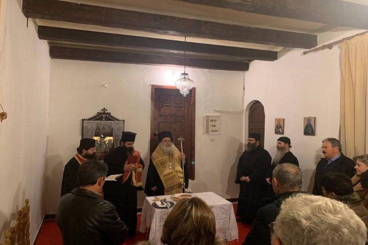 Κοπή Αγιοβασιλόπιτας στη Μονή Παναγίας Φανερωμένης Ιεράπετρας
