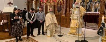 Βάπτισμα εντός της Θείας Λειτουργίας στη Μητρόπολη Ιεραπύτνης