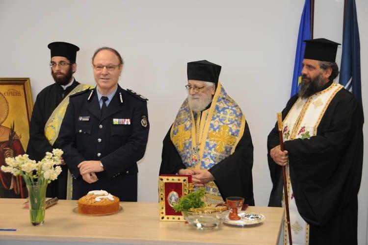 Αγιασμός και κοπή βασιλόπιτας στην Αστυνομική Διεύθυνση Αμμοχώστου