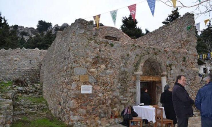 Πανήγυρις Μονής Παναγίας Καστριανών στο Παλαιό Πυλί Κώου