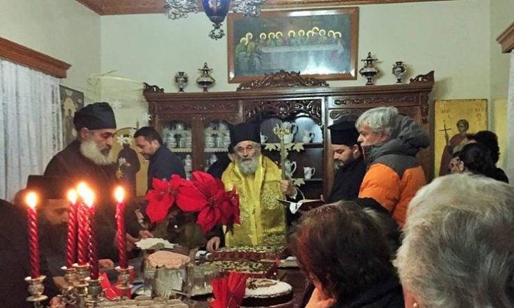 Πρωτοχρονιά στη Μονή Αγίας Αικατερίνης Καλύμνου με το Παλαιό εορτολόγιο