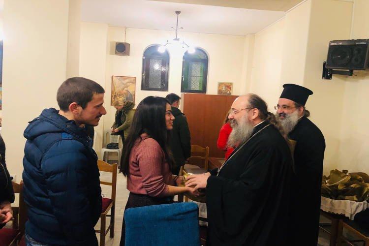Συνάντηση νέων ζευγαριών στην Αγία Μαρίνα Πατρών