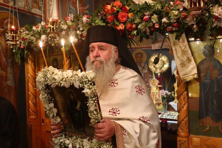 Εορτή Οσίας Ξένης στο Μετόχιο της Μητροπόλεως Σύρου στην Αθήνα