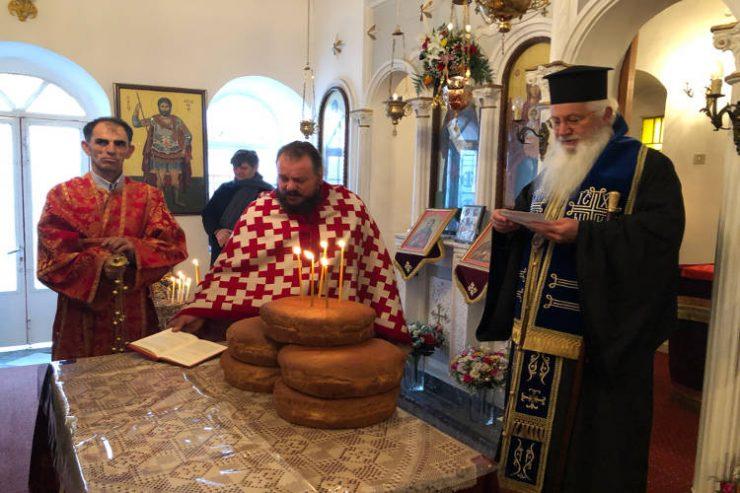 Εορτή Αγίου Αντωνίου στη Μητρόπολη Θηβών