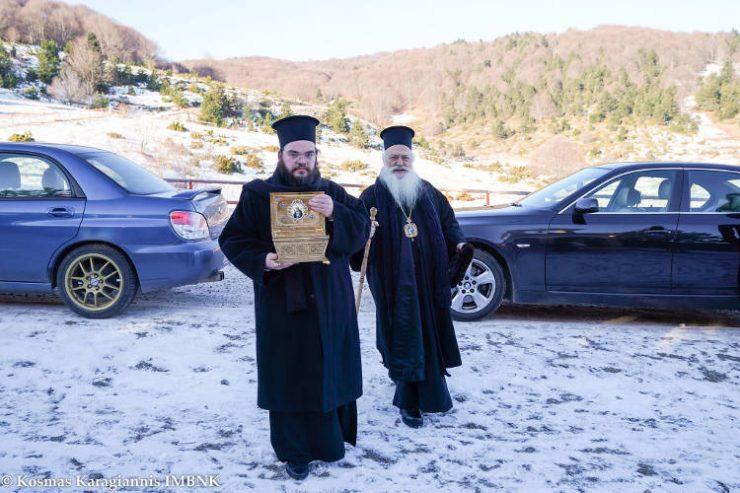 Εορτή Αγίου Σεραφείμ του Σαρώφ στο Χιονοδρομικό Κέντρο Σελίου