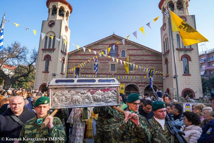 Η Βέροια γιόρτασε τον Πολιούχο της Όσιο Αντώνιο τον νέο
