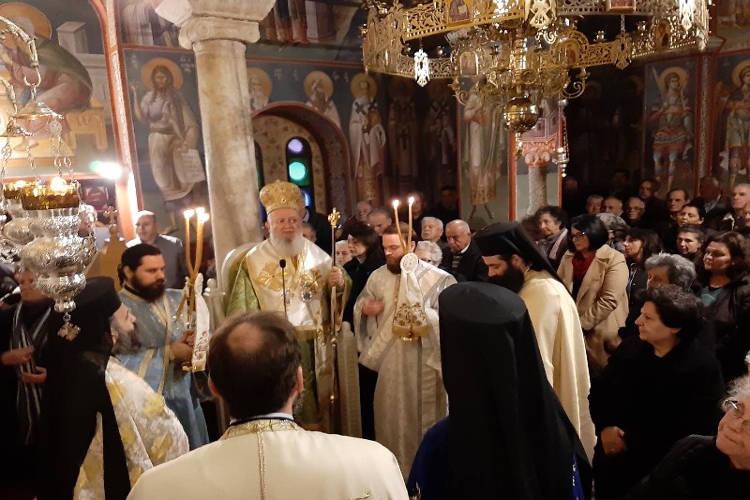 Λαμπρά εόρτασε η Μονή Οσίου Ιωάννου του Καλυβίτου Ψαχνών