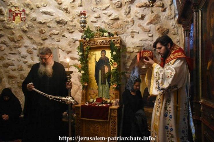 Το Πατριαρχείο Ιεροσολύμων τίμησε την Οσία Μελάνη