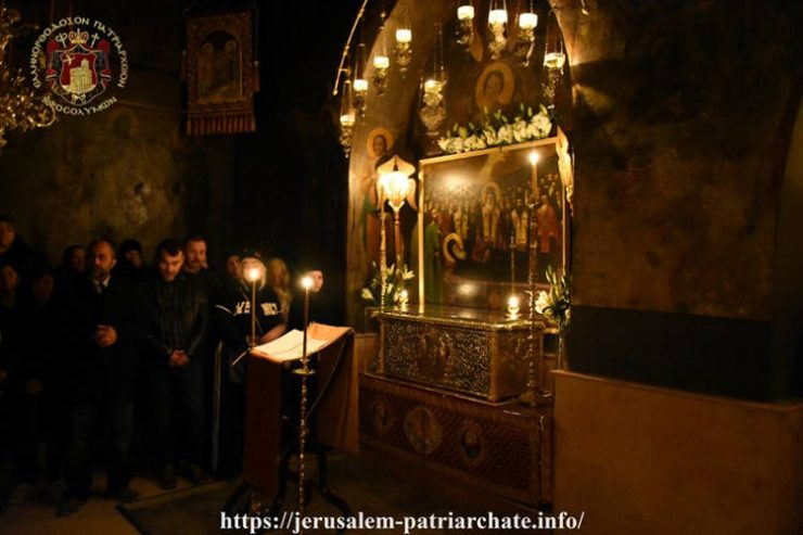 Εορτή Αγίων Γεωργίου και Ιωάννου των Χοζεβιτών στο Πατριαρχείο Ιεροσολύμων