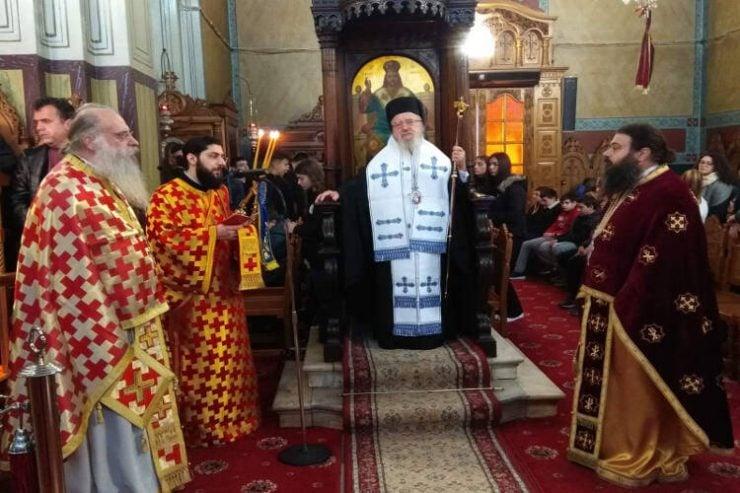 Εορτασμός Τριών Ιεραρχών στη Μητρόπολη Αιτωλίας (ΦΩΤΟ)