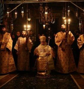 Πρωτοχρονιά στην Ιερά Μεγίστη Μονή Βατοπαιδίου πραγματοποίησε ο Νεαπόλεως Βαρνάβας