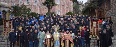 Θεοφάνεια στην Ιερά Μονή Ξενοφώντος Αγίου Όρους