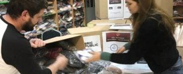 Διανομή ρούχων σε κρατούμενους των φυλακών Τριπόλεως από τη Μητρόπολη Νέας Ιωνίας